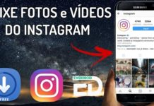 como baixar fotos do instagram no celular