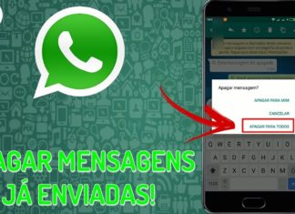 Como apagar as Mensagens já enviadas pelo WhatsApp