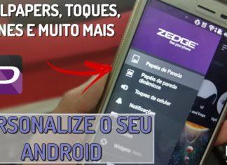 como deixar o seu android espetacular com o zedge