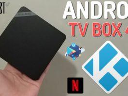 Tv Box Android 4K Mini M8S II