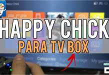 happy chick tv box
