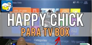 happy chick tv box