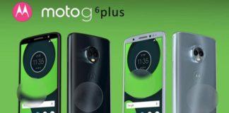 Moto G6, G6 Plus, G6 Play, Moto Z3 e Moto X5