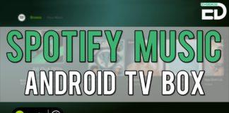 spotify para tv box