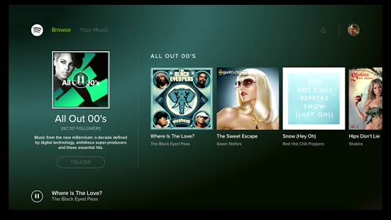spotify para tv box