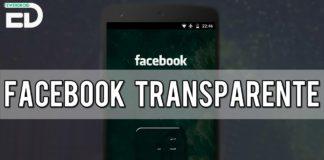 facebook transparente