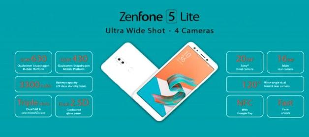 zenfone 5 lite 2018