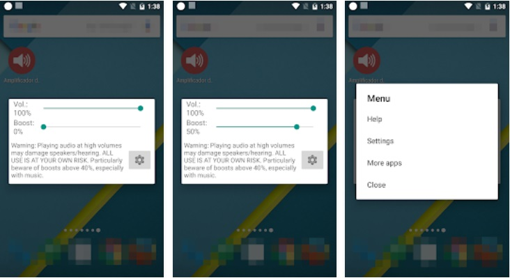 como aumentar o volume do celular android