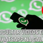 como não salvar fotos e videos do whatsapp na galeria