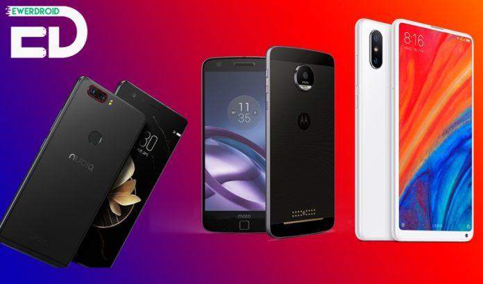 Melhores Smartphones para Importar em Junho 2018