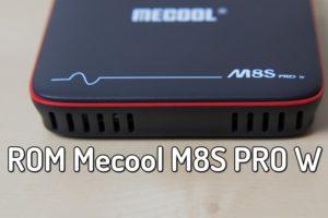 Como Atualizar Mecool M8S PRO W