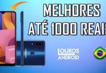 5 MELHORES Smartphones até 1000 REAIS vendidos no BRASIL em 2020