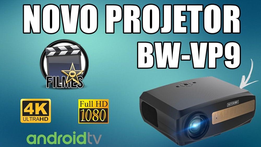 projetor com android tv